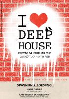 I heart deephouse by mwmax