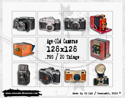 Age-Old Cameras Icons Pack by conzumir