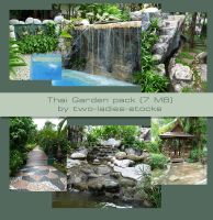 thai garden pack by two-ladies-stocks