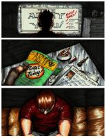 B.Y.O.B. A graphic Novel Class Project pg. 2 by Masque-De-Mort