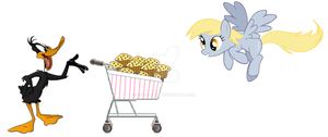 Daffy and Derpy by Evey-chan