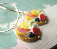 Tutti Frutti Dangle Earrings by PetitPlat