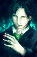 Tom Riddle by Blackfont