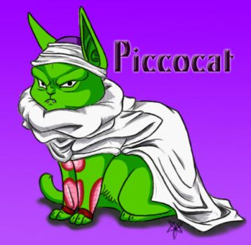Piccolo Cat for Picc by Demon-Child-13