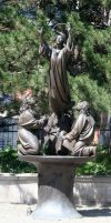 Denver Cathedral Statues 66 by Falln-Stock