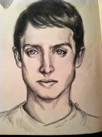 Elijah Wood Sketch by Michi1223