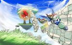 Ruins in the sky by otakuap