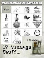17 Vintage Stuff by Diamara