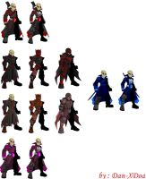 All the Armors by XionicDXelt