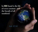 In His hands by Nilopher