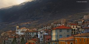 View of Barrea by GiovanniSantostefano