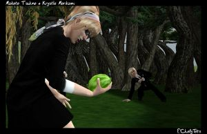 -Sims2- WaterFight by ChellyTots