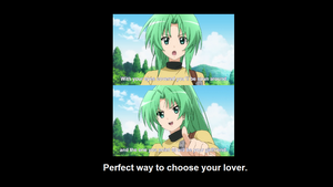 Perfect Way To Choose Your Lover by PikaWolf18