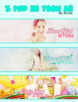 PSD Pack Im Yoona (Hello Summer)(Gift for Seolili) by kevindesigndumhoi
