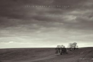 there always will be rain by Wurstgulasch