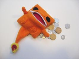 Charmander Change Purse by OddCurio