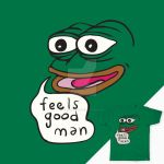 Feels Good, Man - Pepe the Frog T-Shirt by kebuenowilly