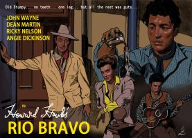 Rio Bravo Art by IndioBlack619