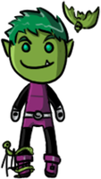 Teen Titans - Beast Boy by shrimp-pops