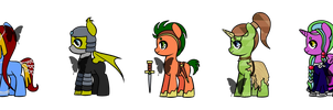 Character Class Pony Adopts [Open] by ChibiShay