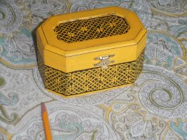 First Celtic Knotwork Box by JARM13