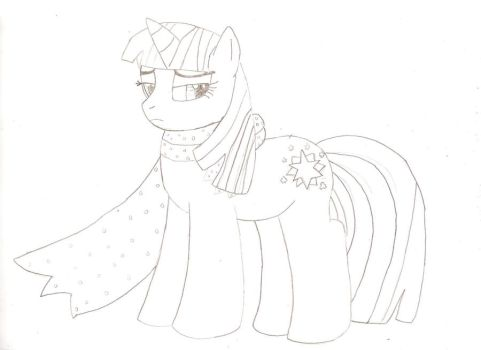 Twilight Sparkle Sketch by Dune-Cat