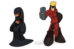 Panther and VASH by theCHAMBA