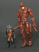 Marvel Legends Rocket Raccoon redesign custom 2 by LuXuSik