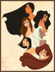 Princesses 2 by scaragh