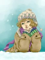 winter smile colored by wind-hime-kaze
