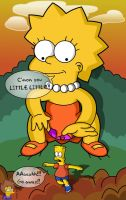 Bart the Toy by mastadee