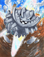 ORAS: Mega Steelix used Earthquake