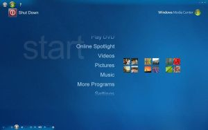 Vista or 7 Skin for Xp MCE by AMIRSYAHRANI