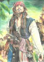 PotC-Captain Jack Sparrow by Pridipdiyoren