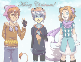 Christmas Time~ by FurryMaellou