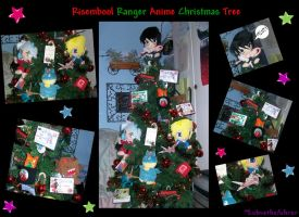 Anime Christmas Tree Collage by lobvethefuhrer