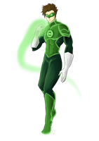 Green Lantern - Hal Jordan by LittleScarecrow