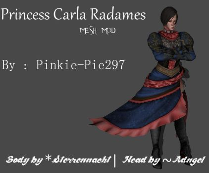 Princess Carla Radames (Mesh Mod) [DL] by Pinkie-Pie297