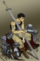 berserk gatsu by French-Zar