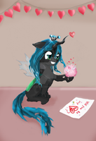 Chrysalis and Fluffle Puff (Childhood) by Wilvarin-Liadon