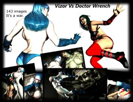 Vizor VS Dr. Wrench - Available for FREE!! by Realms-And-Void