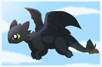 Toothless Unbound by pichu90