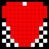 Checkerboard Heart by strawberry-chan13