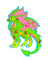 Disco Draik by archinator