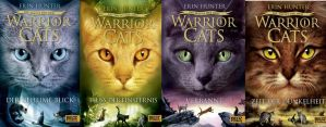Warrior Cats Series three german covers by Distelblatt