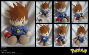 Plushie: Gary Oak - Pokemon by Serenity-Sama