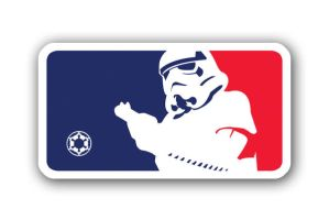 Stormtrooper MLB Logo Parody 2 by theCrow65