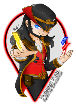 LoL - Twisted Fate by Shiro-Demon