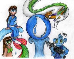 Skylanders Elements: Water by Kiwi-ingenuity123