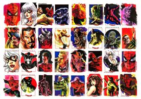 Spider-man sketchcards by felipemassafera